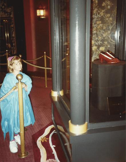 "Ruby Slippers - Disney Sole Becca ""becsketch"" Klein"
