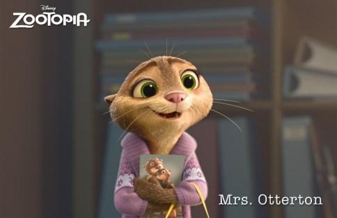 ZOOTOPIA – MRS. OTTERTON