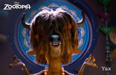 ZOOTOPIA – YAX THE YAK,
