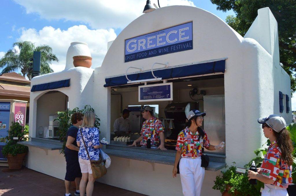 epcot food & wine photo tour 2015 - greece