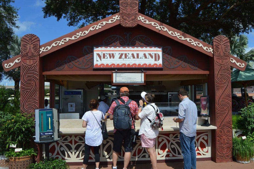 epcot food & wine photo tour 2015 - new zealand
