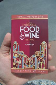 epcot food & wine photo tour 2015 - passport
