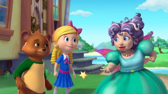 BEAR, GOLDIE, FAIRY GODMOTHER