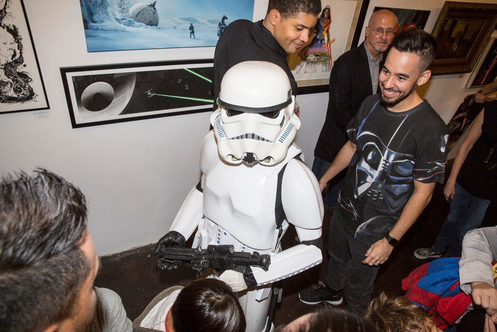 Star Wars:Force Awakens Art Awakens Exhibit