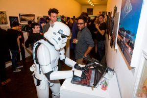 Star Wars:Force Awakens Art Awakens Exhibit