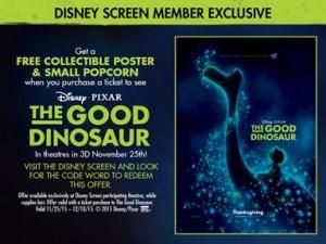 Good Dinosaur Poster Offer