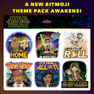 Star Wars The Force Awakens Bitmoji