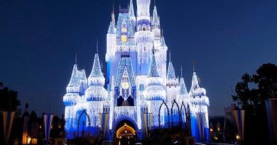 cinderella castle dream lights