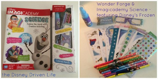 wonder forge disney imagicademy science review