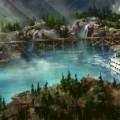 Rivers of America Disneyland concept art