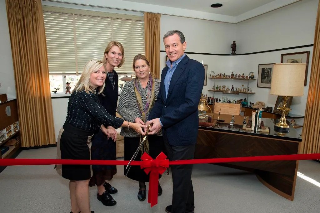 MICHELLE LUND, JENNIFER GOFF, JOANNA MILLER, ROBERT A. IGER (CHAIRMAN AND CEO, THE WALT DISNEY COMPANY)