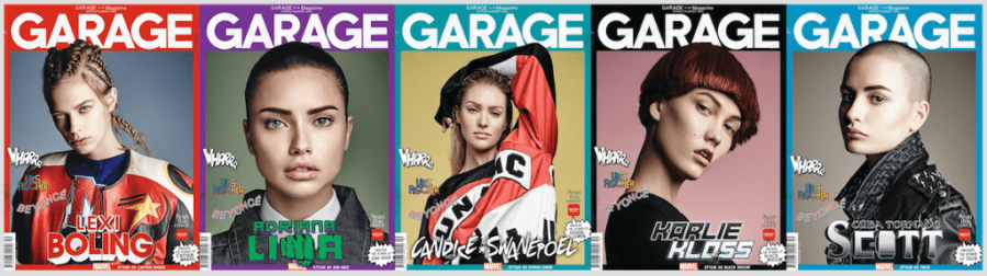 Garage Magazine Marvel Models
