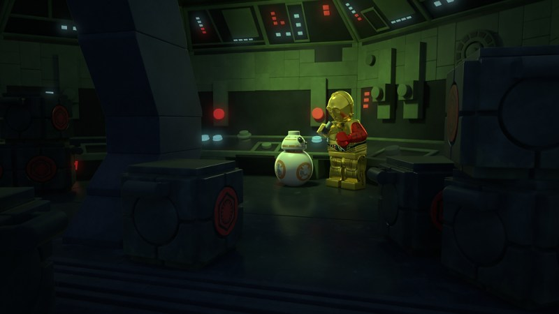 BB-8, C-3PO, LEGO Star Wars The resistance rises
