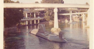 disneyland's submarine voyage - throwback thursday