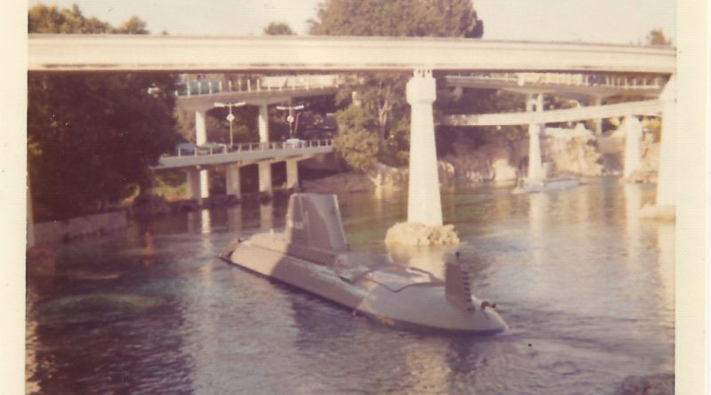 disneyland's submarine voyage - throwback thursday
