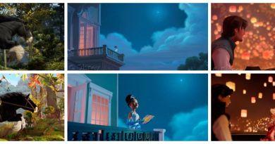 Toy cast Disney Princess Collage