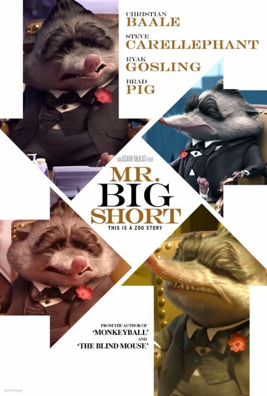 zootopia poster mr big short