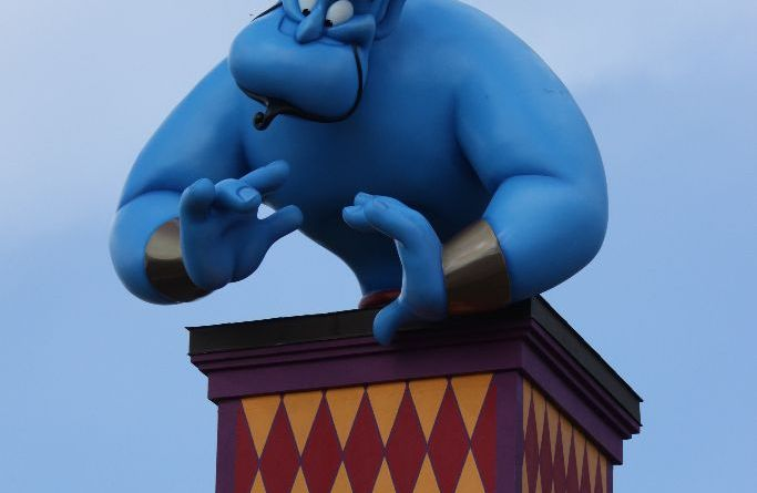 Genie - Throwback Thursday