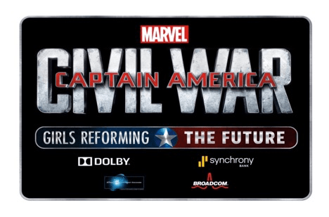 Marvel Cap America CW Girls Reforming the Future