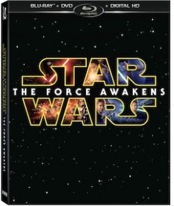 Star Wars The Force Awakens DVD Package