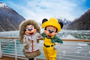 DCL Alaska Disney Cruise Line Mickey & Minnie
