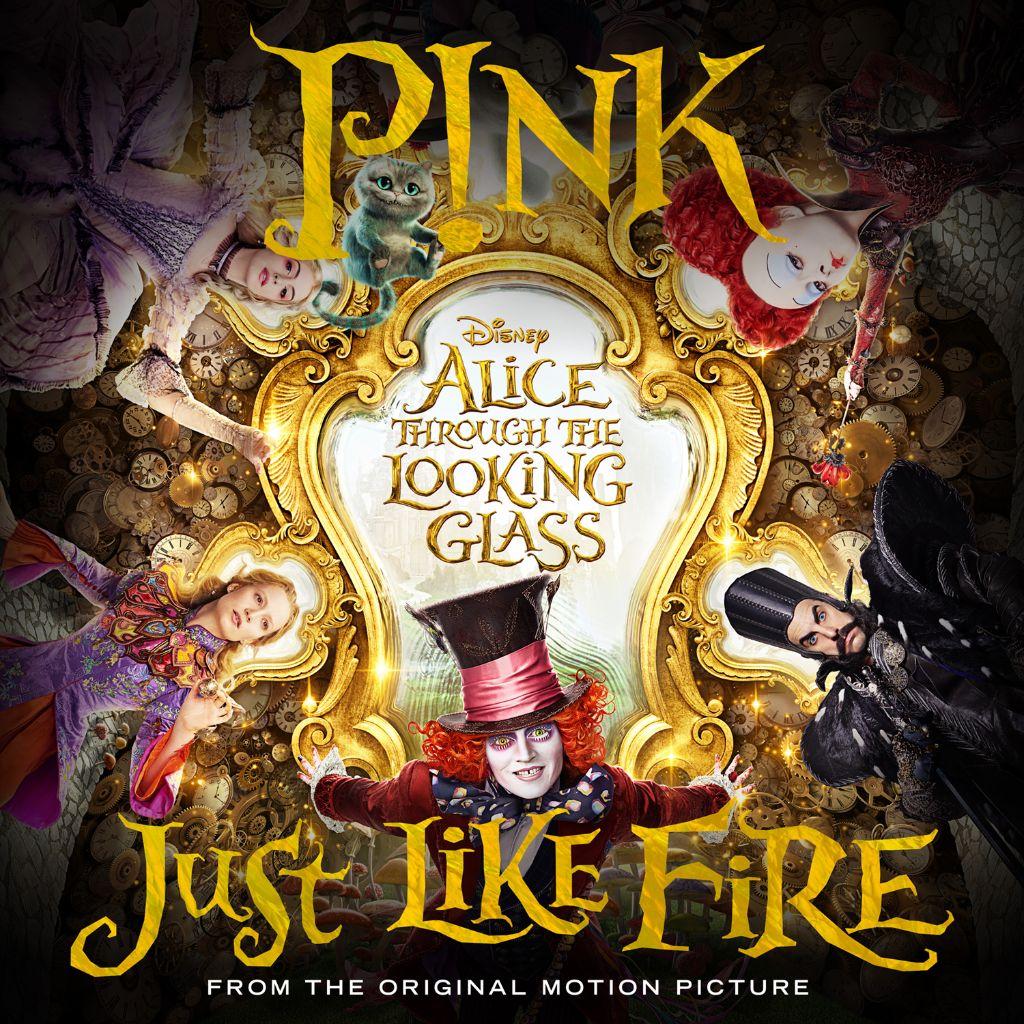 P!NK Just Like Fire single