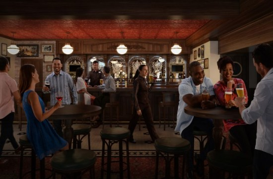 Disney Cruise Line - English Pub - Disney Wonder