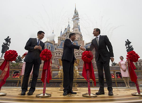 Shanghai Disneyland Grand Opening Bob Iger