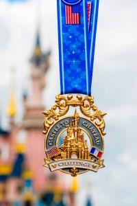 Disneyland Paris Half Marathon Weekend Challenge Medal