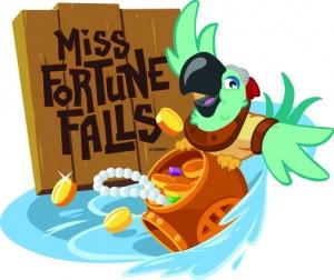 Miss Fortune Falls Logo