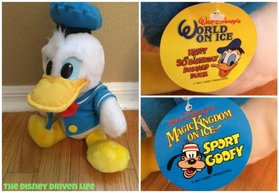 Throwback Thursday Donald Duck Disney on ice