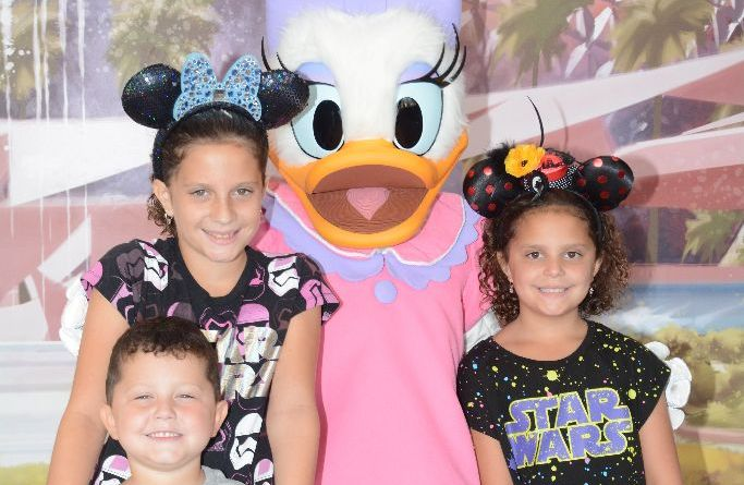 Teacher takes Disney Vacation during School Break