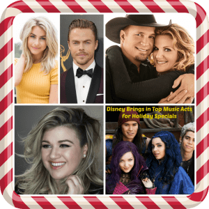 Disney Brings in Top Music Acts for Holiday Specials