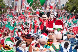 disney parks christmas parade