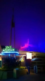 Space Mountain Wordless Wednesday