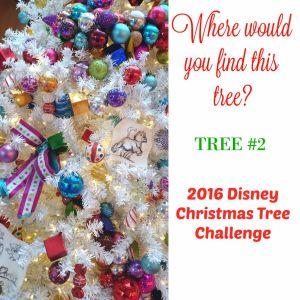 Tree #2 the Disney Driven Life 2016 Disney Christmas Tree Challenge