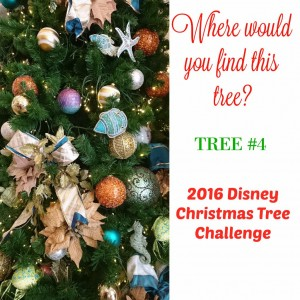 Tree #4 the Disney Driven Life 2016 Disney Christmas Tree Challenge