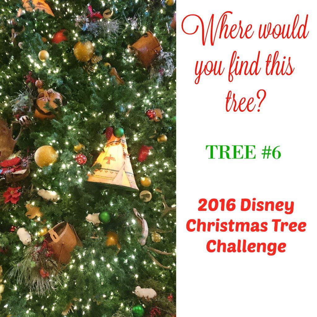 Tree #6 the Disney Driven Life 2016 Disney Christmas Tree Challenge