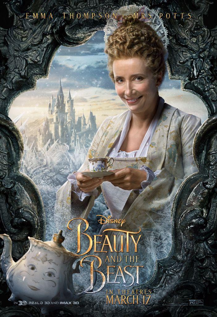Beauty & the Beast Mrs Potts