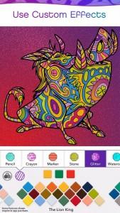 Color by Disney App Pumbaa