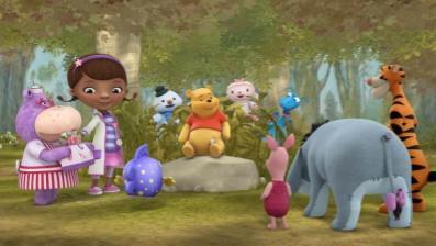 Doc Mc Stuffins Winnie the Pooh