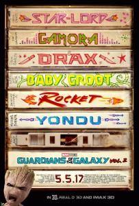 Guardians of the Galaxy Vol 2 GOTG