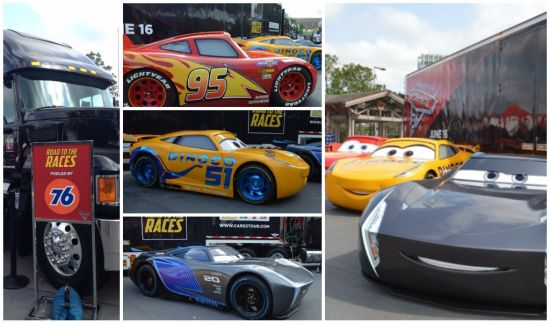 Cars 3 Road to the Races Tour Cars
