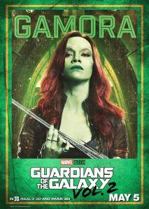 GOTG2 Gamora