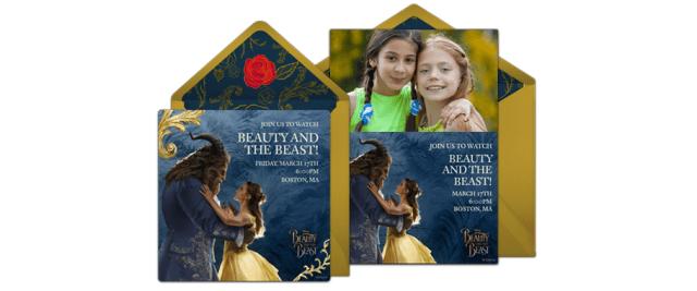 Beauty & the Beast Punchbowl