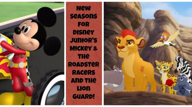 Mickey & Lion Guard New Seasons Disney Junior