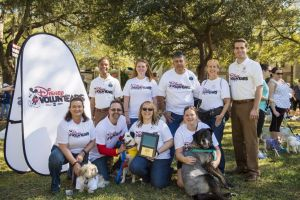 Paws Disney Voluntears