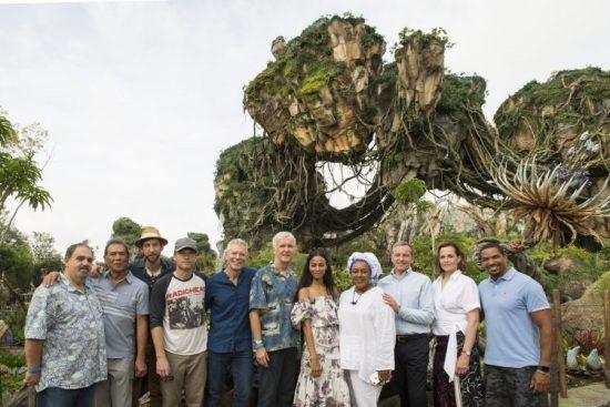 Disney Pandora Dedication Ceremony