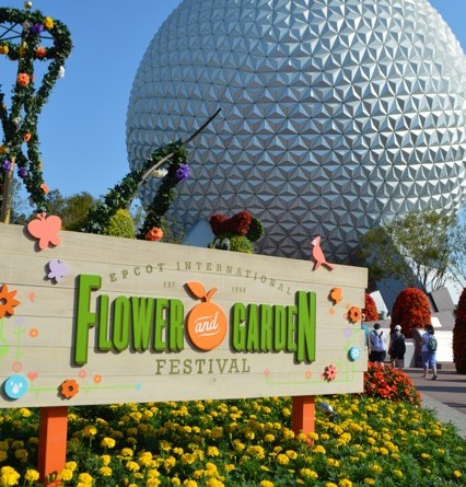 Epcot Flower & Garden - Wordless Wednesday