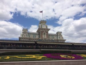Magic Kingdom Train Station Wordless Wednesday